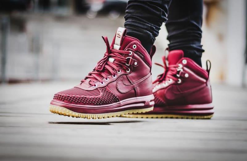 nike sportswear air force 1 - sneaker high - team red dog