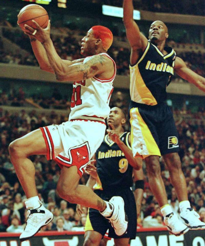 Dennis Rodman - Nike Air Shake Ndestrukt