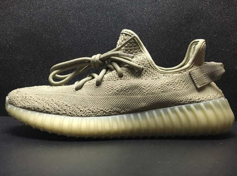 Low Top Cheap Yeezy boost 350 v2 dark green price in usa Replica