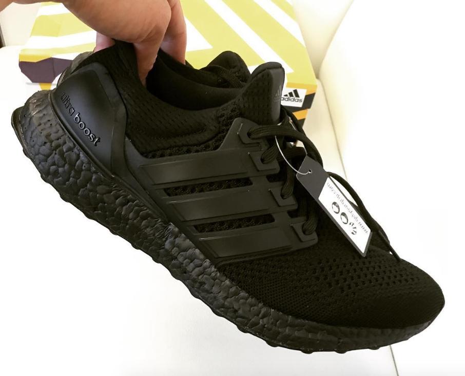 big sale bce8e ba5d4 Triple Black Adidas Ultra Boost BB4677 | Sole Collector
