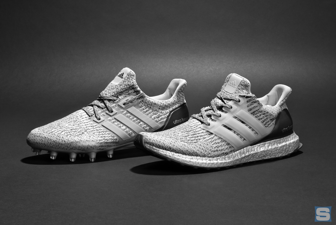 Adidas Ultra Boost All White Cleats
