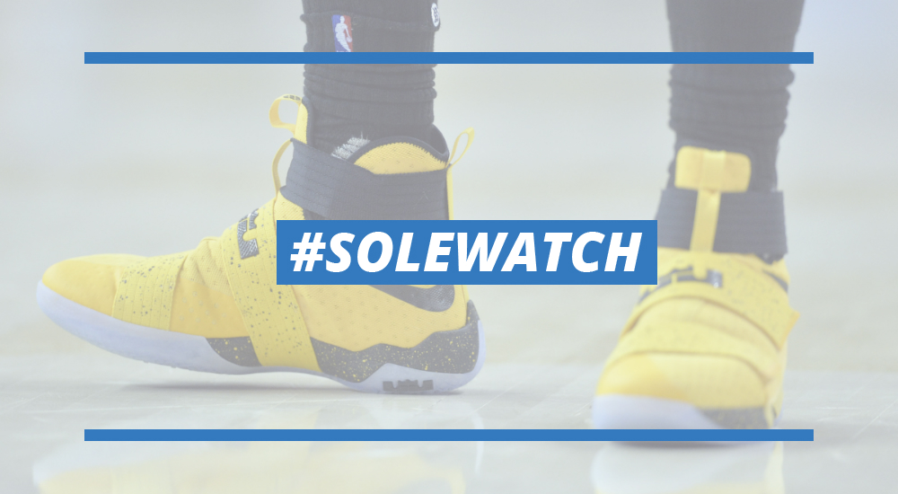separation shoes 988cf 39ee4 LeBron James Nike LeBron Soldier 10 Yellow PE | Sole Collector