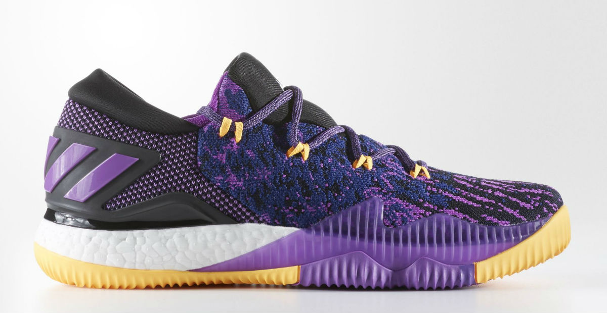more photos dd869 8e894 Adidas Crazylight Boost Swaggy P Lakers Release Date BB8175   Sole Collector