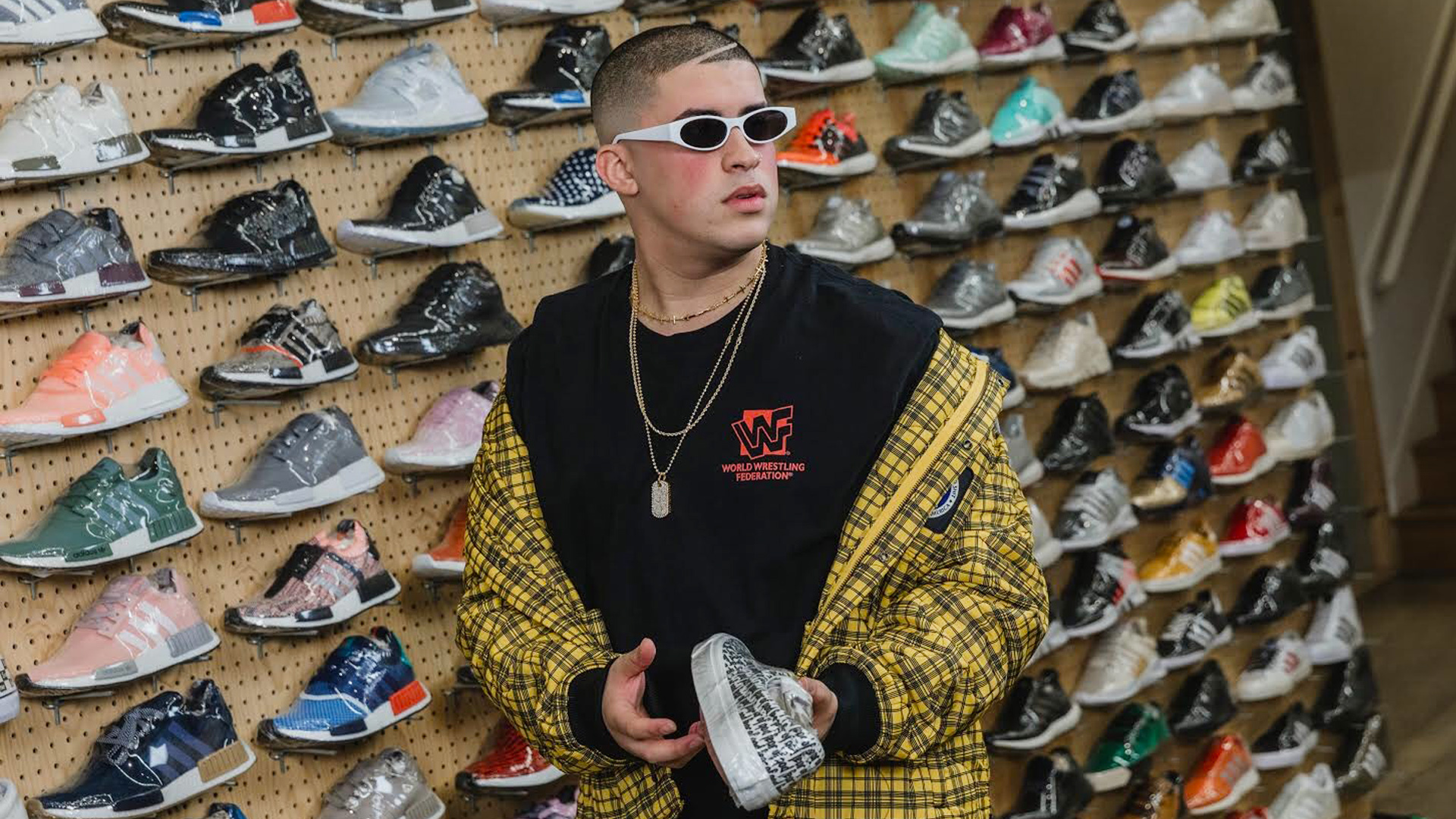 Paternal extremadamente telegrama  Sneaker Shopping' with Bad Bunny   Sole Collector