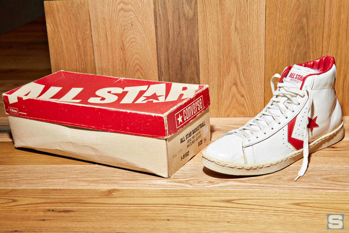 Why Converse Is Bringing Back the Pro Leather