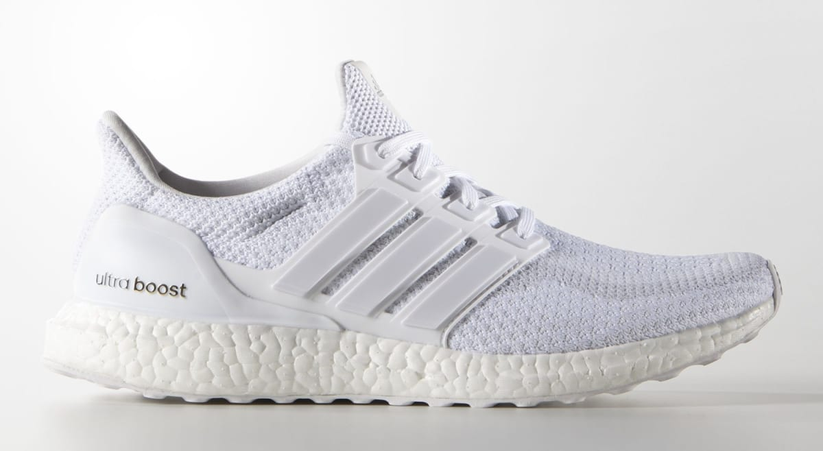 differently 88eba 5d77b Triple White Adidas Ultra Boost Womens Restock   Sole Collector