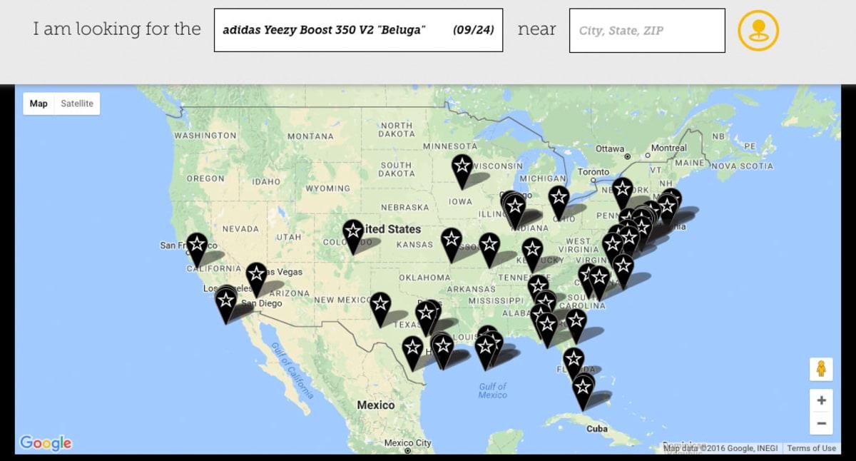 f5dee3022 adidas Yeezy 350 Boost V2 Beluga Where to Buy Champs SportsLaunch - adidas  Yeezy 350 Boost V2 Beluga Where to Buy