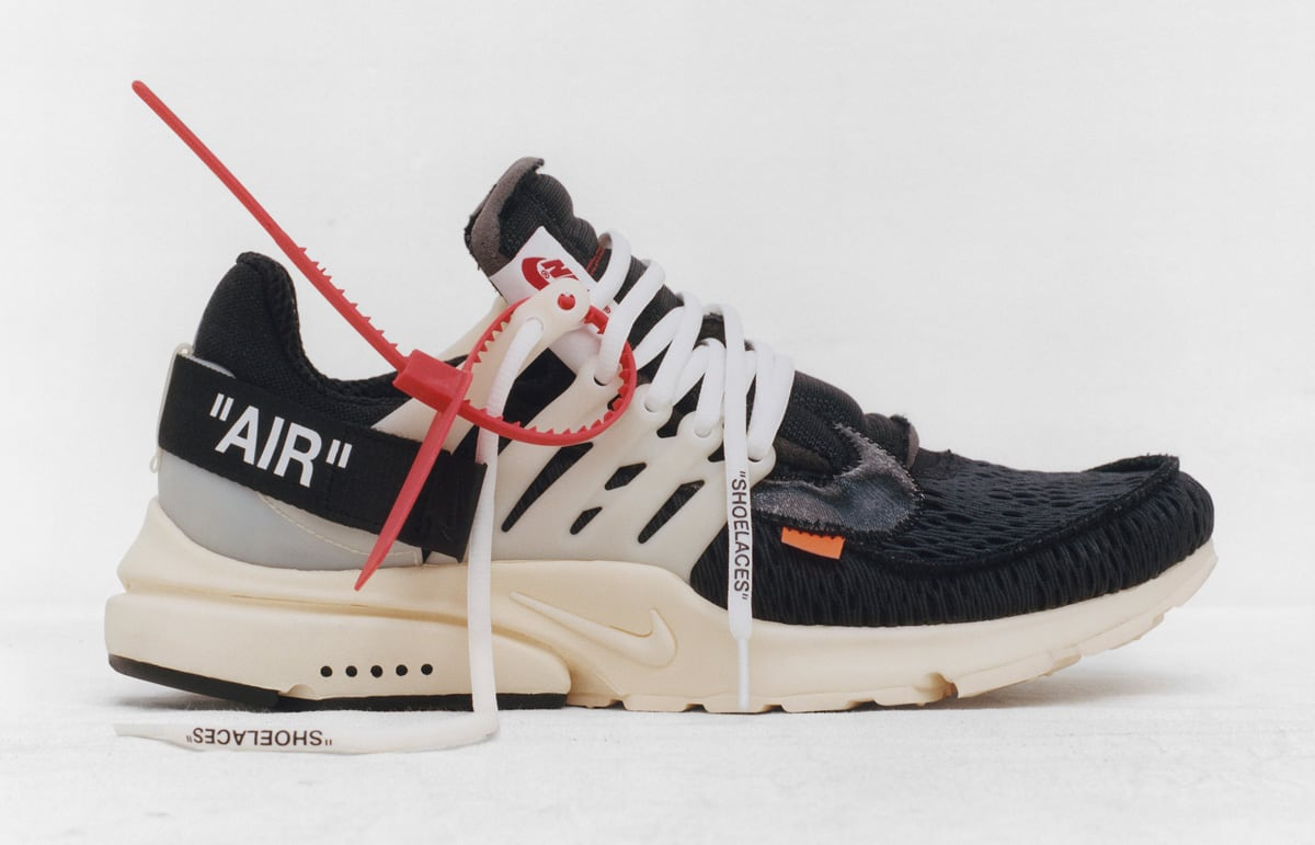 Digital Tears Flow for Nike SNKRS' Off-White 'The Ten' Release
