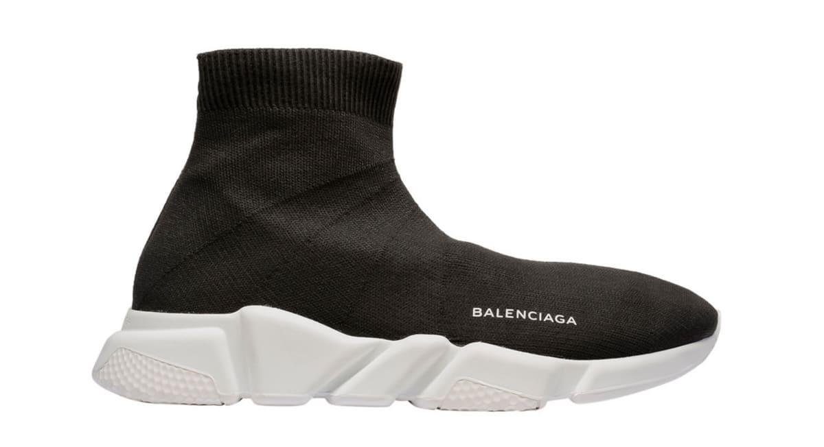 Black Boot Like Shoes