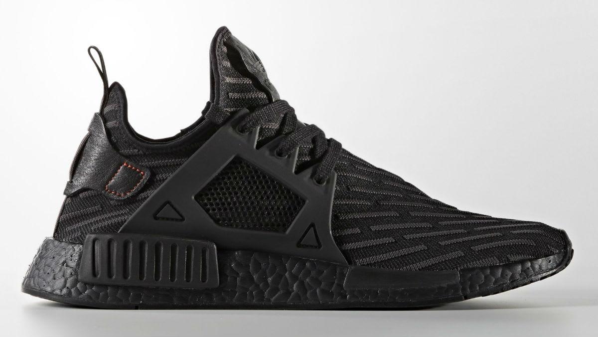 b4f78e6e8 Triple Black Adidas NMD XR2