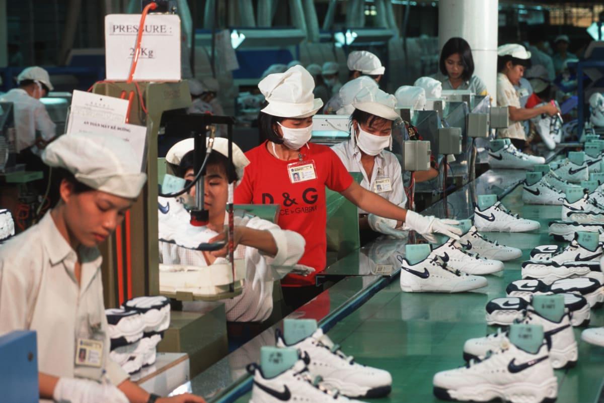 Nike Shoe Making Labor