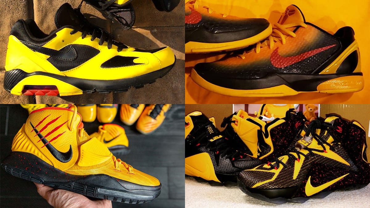 The 50 Best Nike By You 'Bruce Lee' Designs