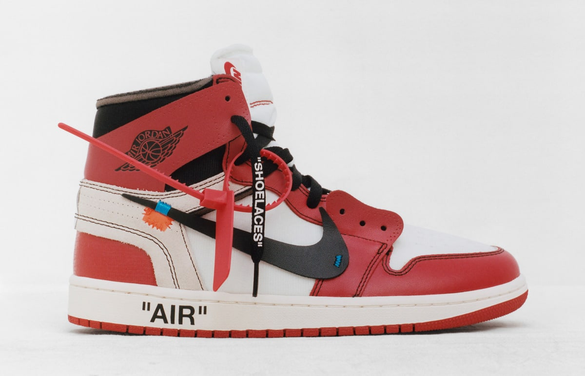 Virgil Abloh's 'The Ten' Collection Releases on Nike SNKRS Today
