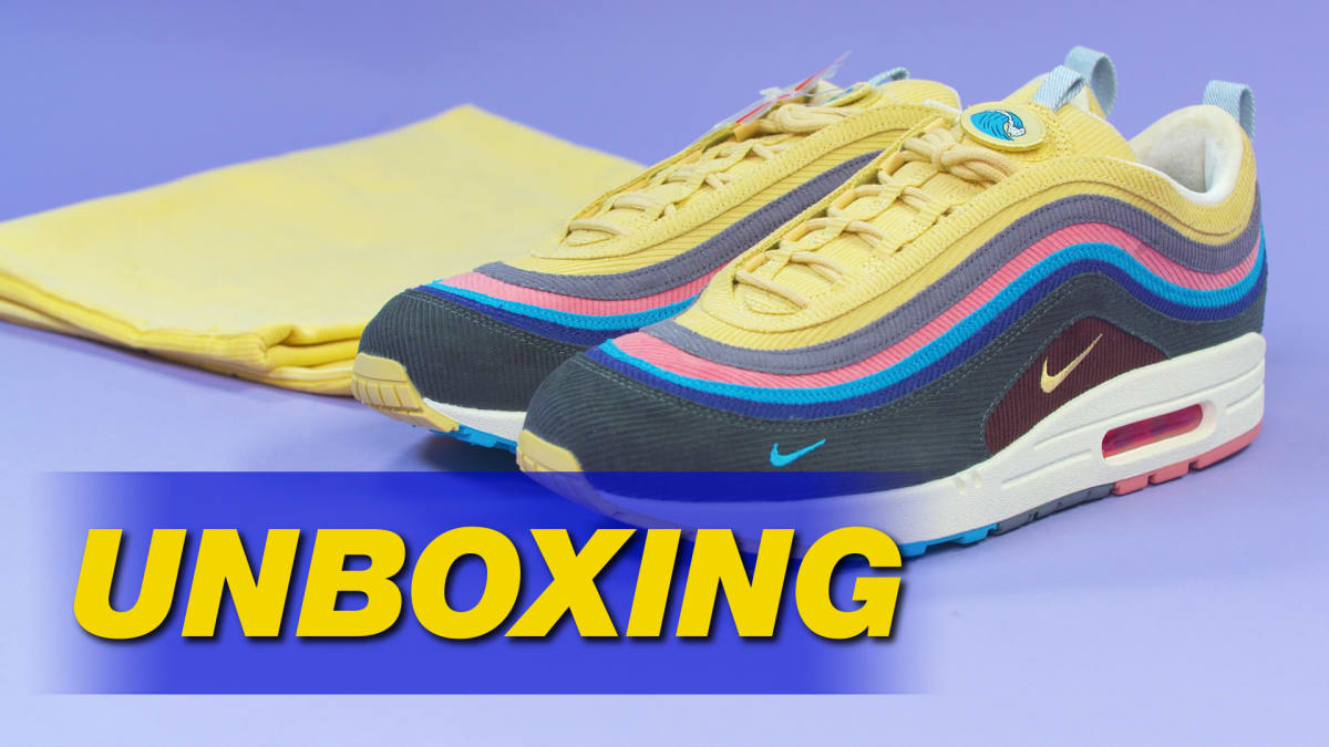 938543ecc7434 Sean Wotherspoon x Nike Air Max 1 97 Unboxing