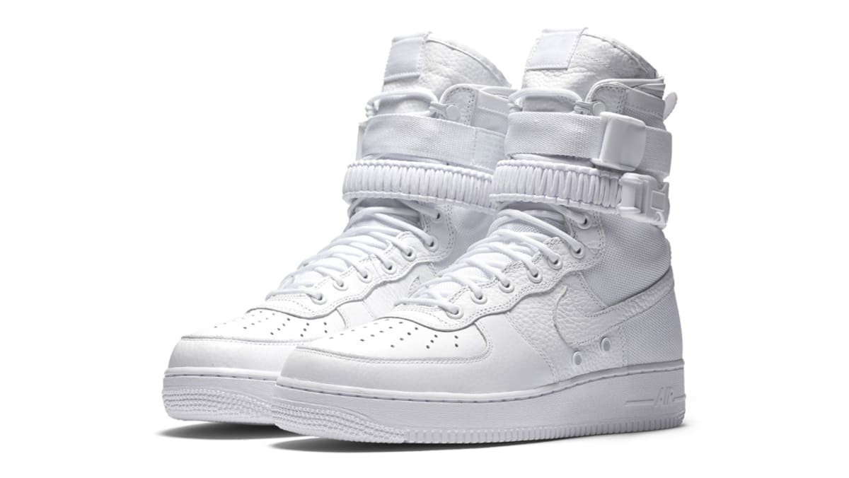classic fit 432f3 d57a2 Nike AF Air Force 1 High White Release Date 903270-100   Sole Collector