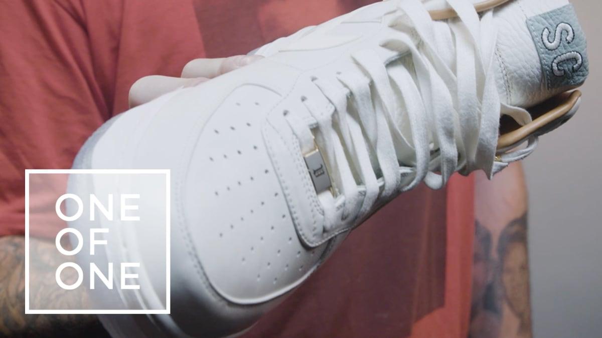 John Seymour Nas Nike Air Force 1 Bespoke | Sole Collector