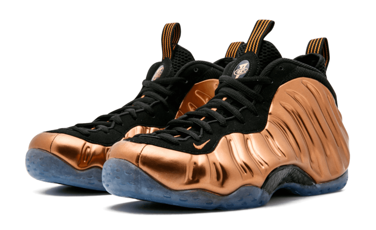 pretty nice 5067b 4350d ... store copper nike air foamposite one release date sole collector 72bf4  4fb05