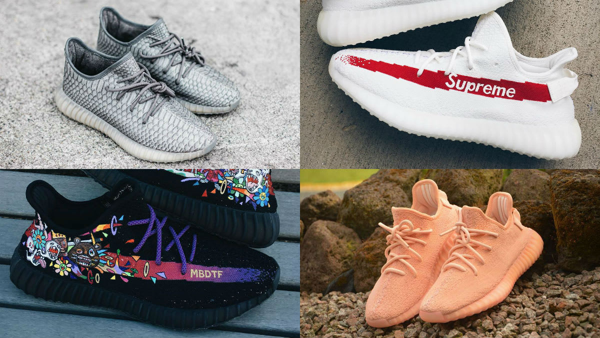 Best UA Yeezy Boost 350 V2