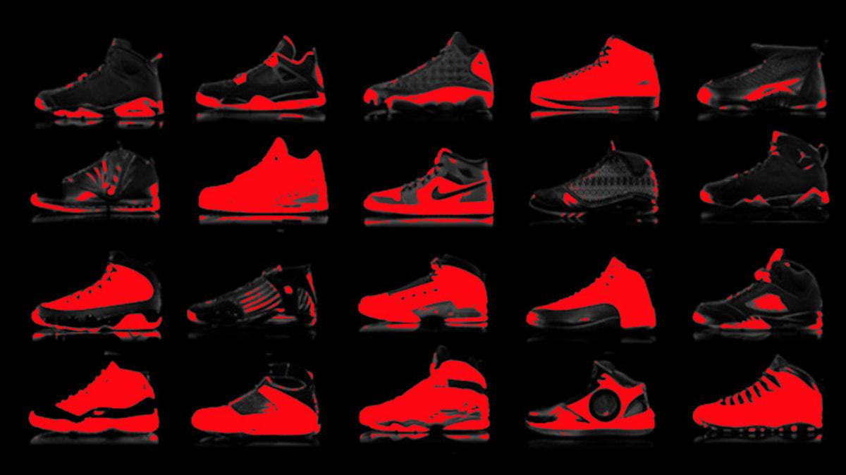 Michael Jordan Shoes In Order