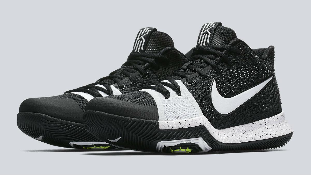 Nike Kyrie 3 Black White Tuxedo Release Date 917724 001