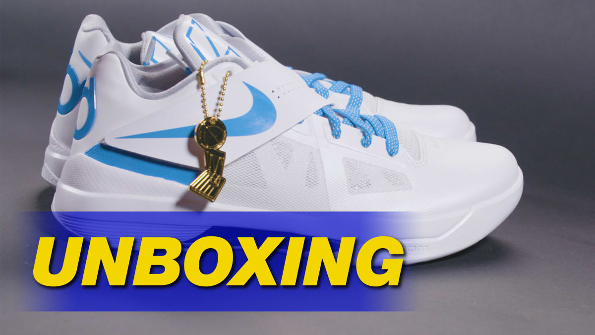 huge selection of 50f01 84eb7  Battle Tested  Nike KD 4 Retro  Art of a Champion  Pack Unboxing   Sole  Collector