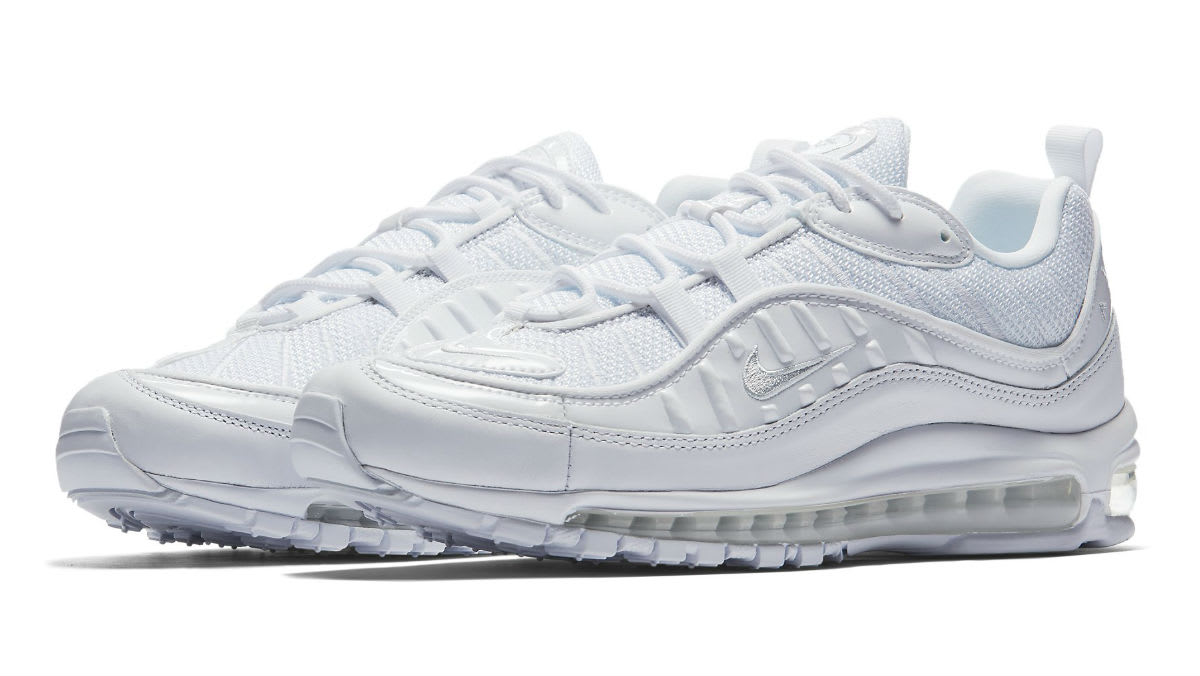 Nike Air Max 98 White Pure Platinum Release Date 640744