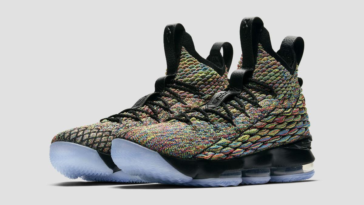 20179db74d62 Nike LeBron 15 Black Four Horsemen Release Date 897648-901