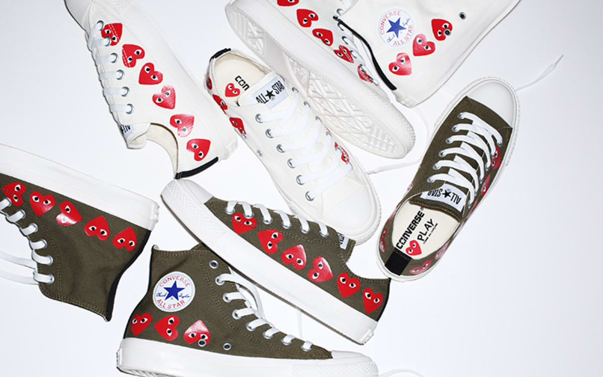 COMME des Garcons PLAY x Converse March 2018 Release Date ...