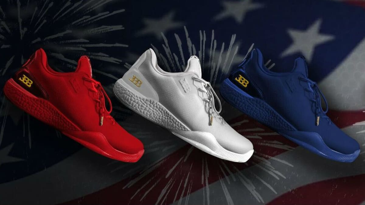 Big Baller Brand Independence Day Shoes