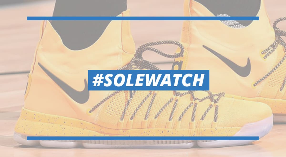 dd2002aa6e65 ... release date kevin durant nike kd 9 elite yellow black pe sole  collector fc5b2 aa7a8