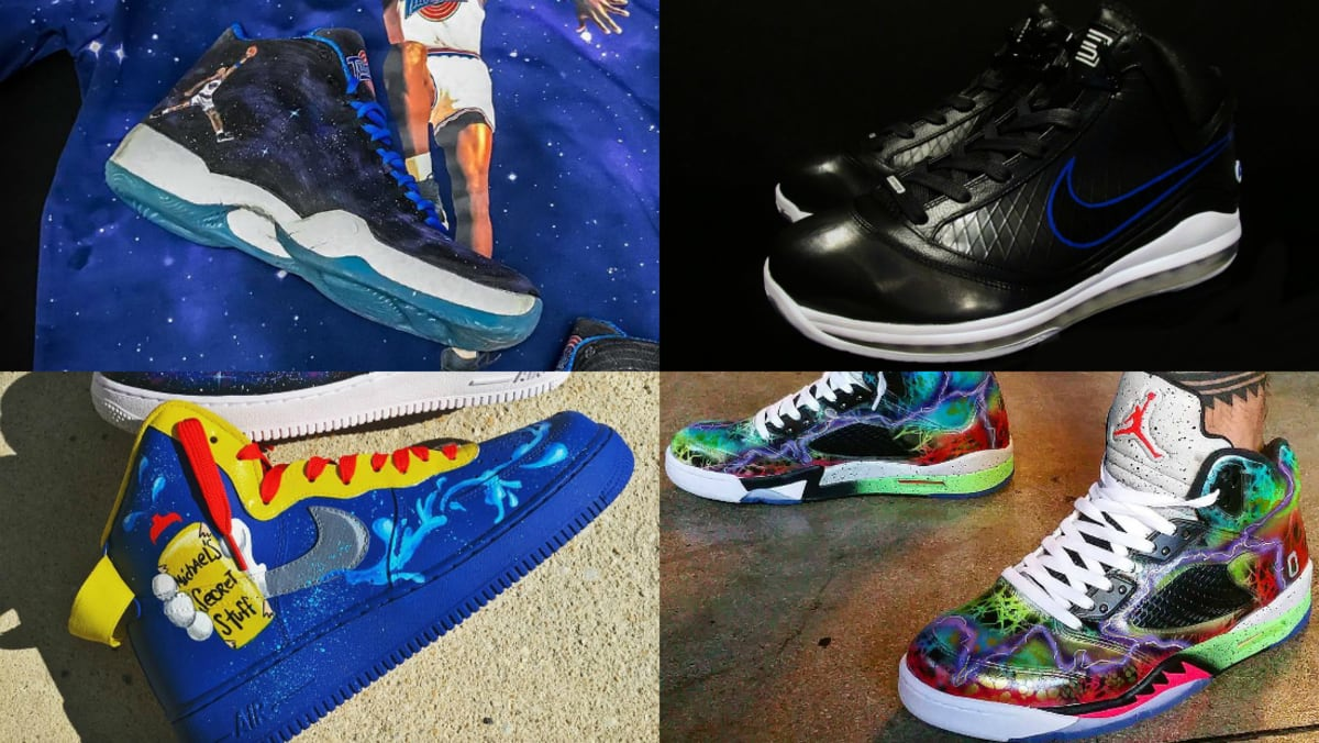 Space Jam Air Jordan Custom Sneakers | Sole Collector