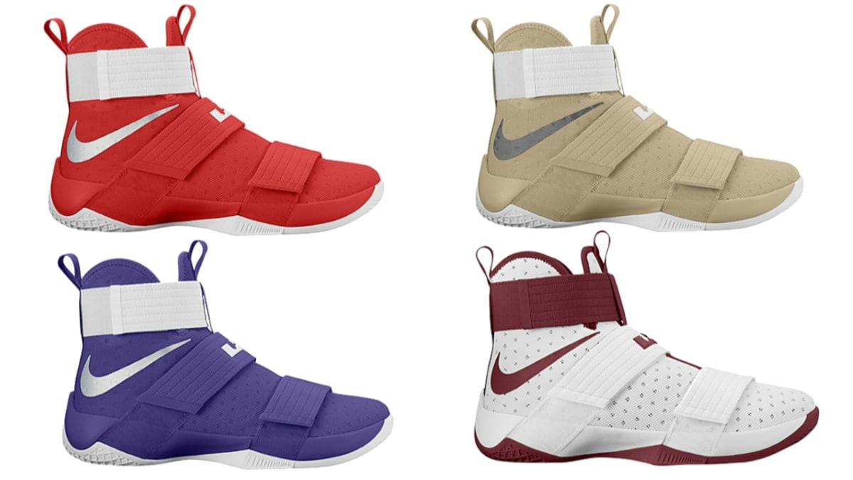 2ce5ec45b1c Nike LeBron Soldier 10 TB Colorways