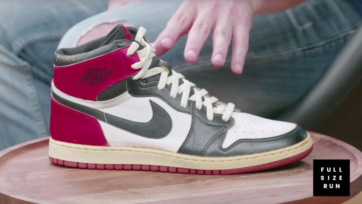 ed7b539a203397 Sole Collector Full Size Run Sneakers Episode 9 Air Jordan 1 Black Toe 1984  Prototype