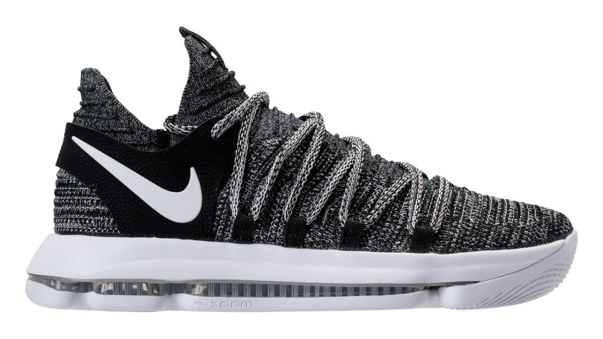 d644d23d96f6fe Nike KD 10 Oreo Release Date 897815-001