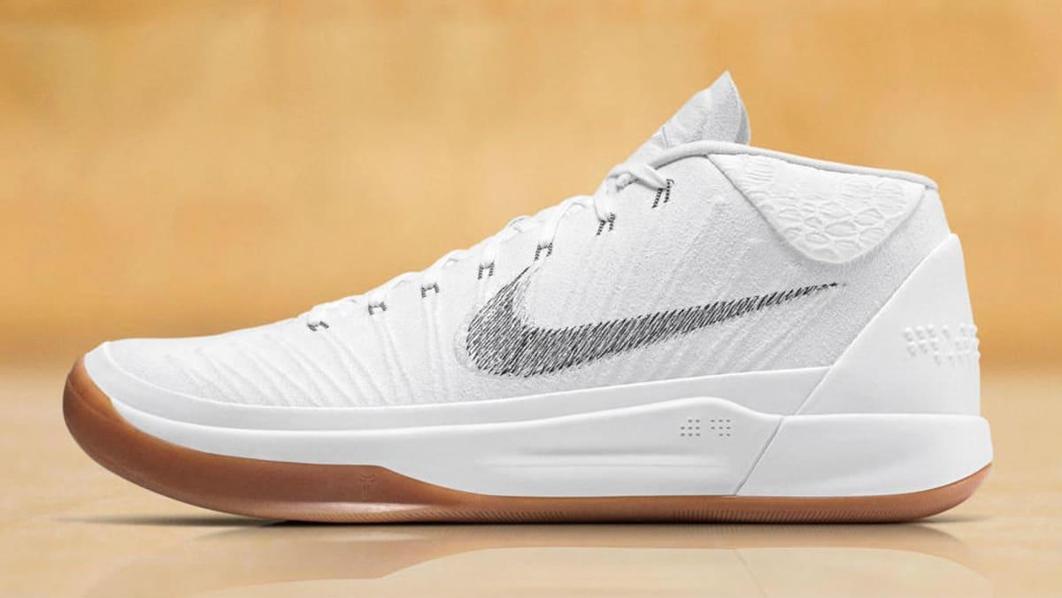 f872a29e151c Nike Kobe A.D. Mid DeMar DeRozan White PE
