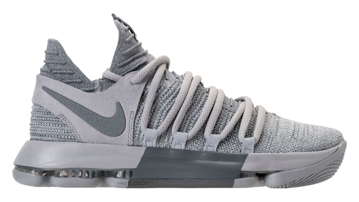 a328162b36ffb Nike KD 10 Wolf Grery Cool Grey Release Date 897815-007