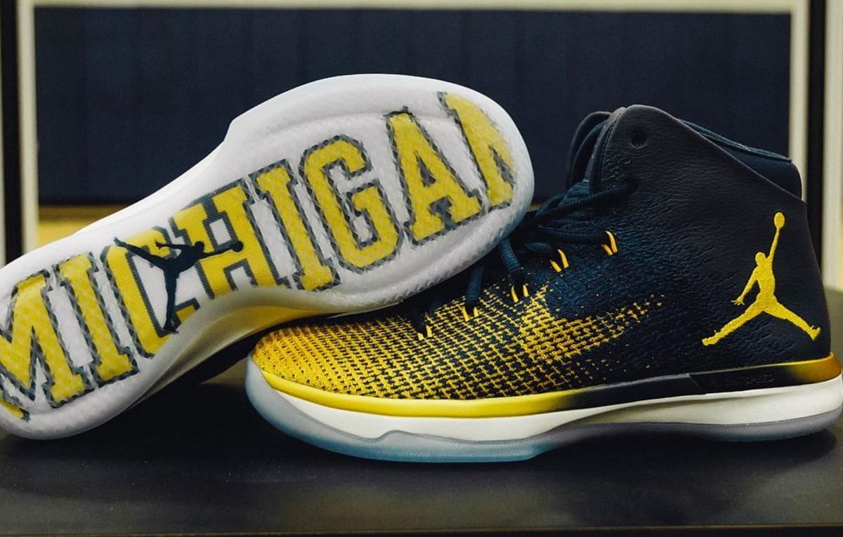 Michigan Wolverines Adidas Shoes
