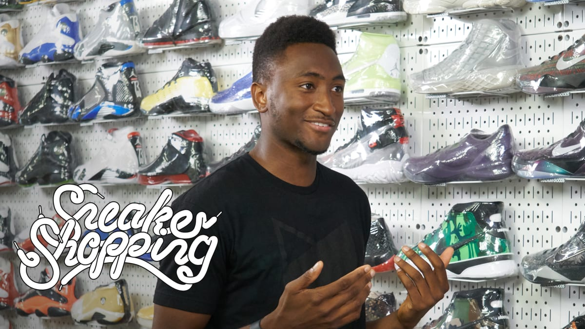 marques brownlee goes sneaker shopping with complex sneaker shopping.'