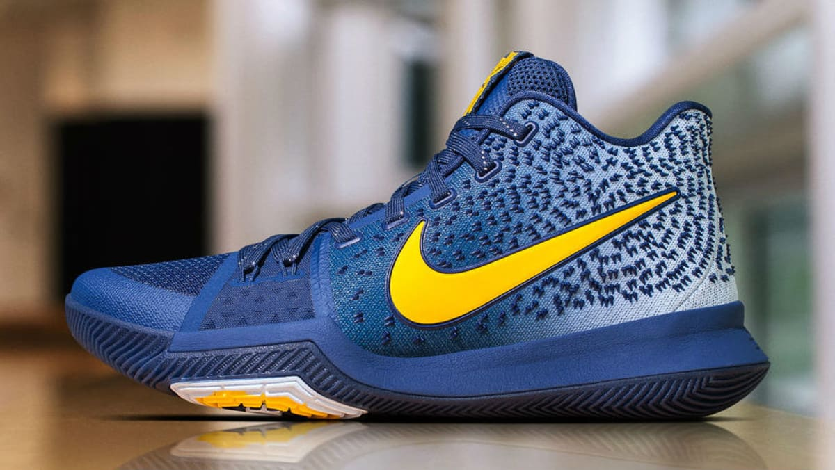 38498dd2cd700 ... authentic nike kyrie 3 yellow navy pe sole collector 49b85 e8411