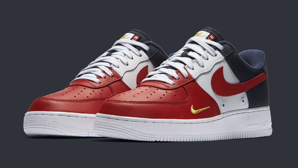 Nike Air Force 1 Low Mini Swoosh USA Release Date 823511 601