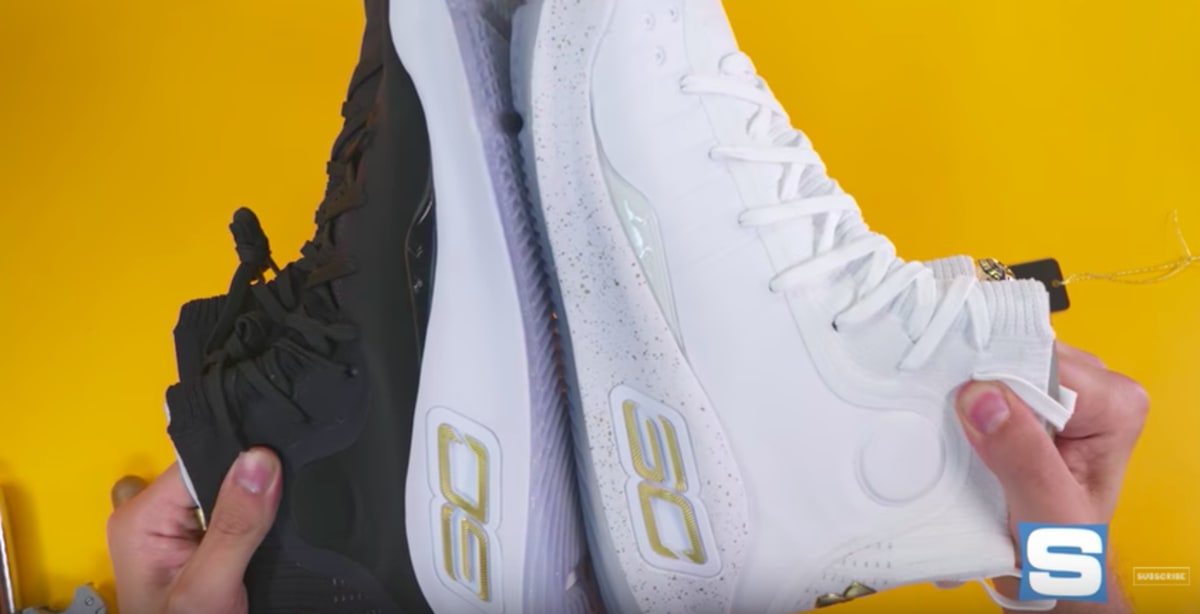 d39e4e71c8f Under Armour Curry 4 More Rings Unboxing