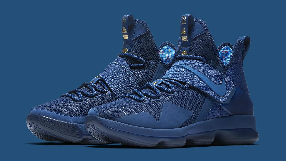 Nike LeBron 14 Agimat U.S. Release Date Main 852402-400 ...