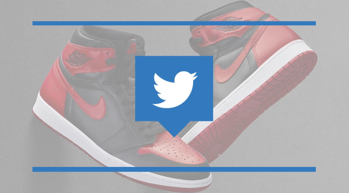 475ba5c231 Snitching for Banned Air Jordan 1 - Twitter Reacts to the