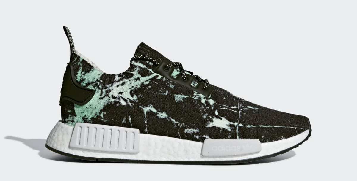 84e17047817f Adidas NMD R1  Green Marble  Release Date July 27