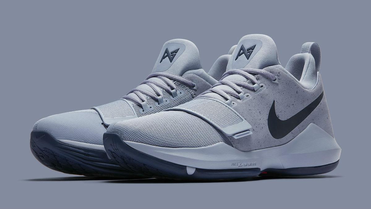 Nike Pg 1 Grey Navy Release Date 878627 044