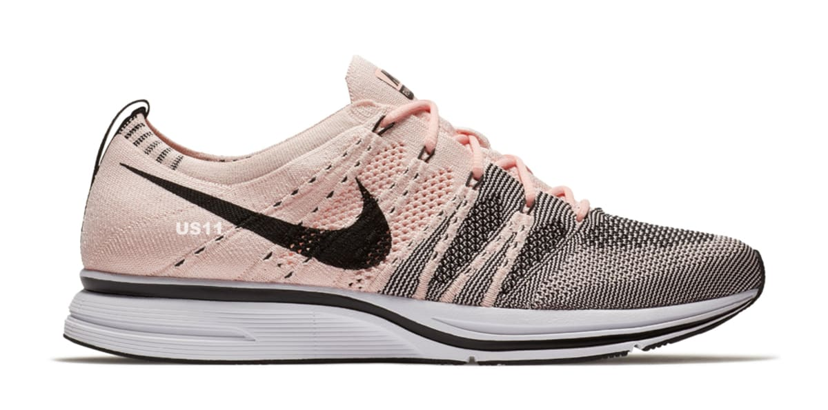 nike flyknit trainer sunset tint pale grey sole collector. Black Bedroom Furniture Sets. Home Design Ideas