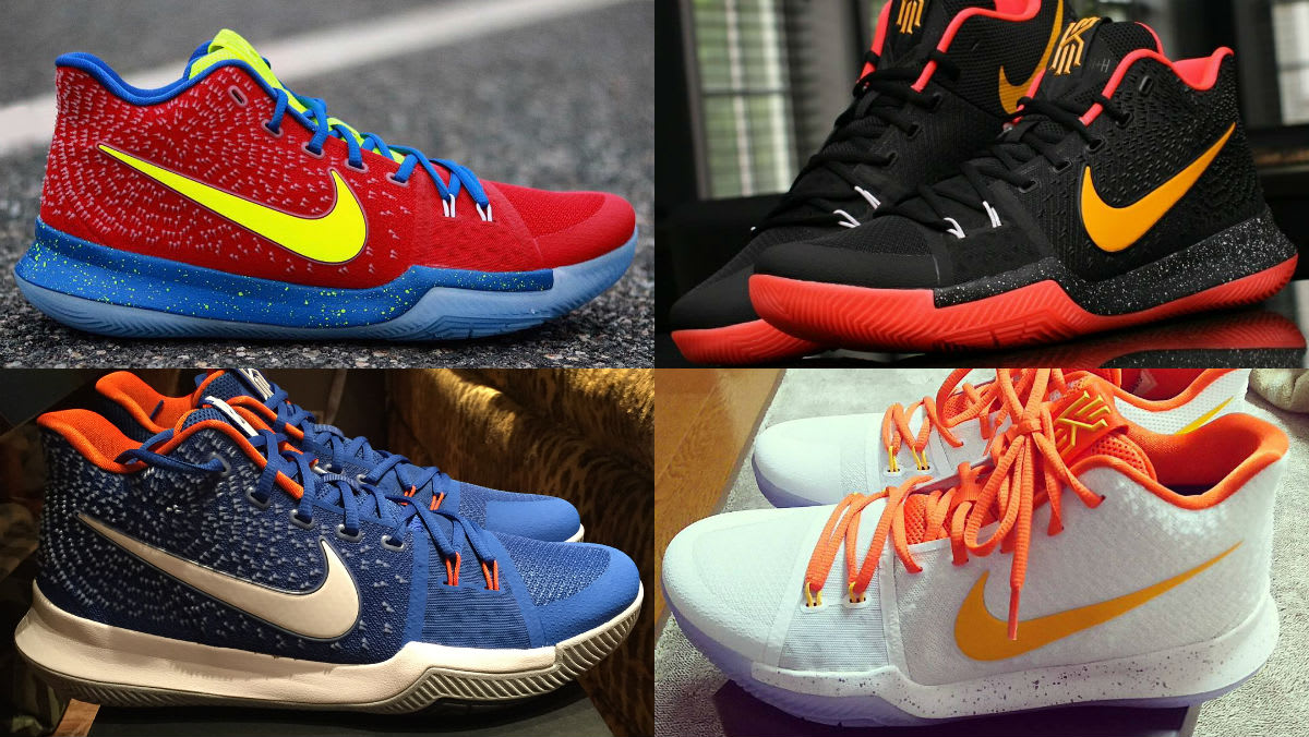The best nike id kyrie 3 designs sole collector for Best design