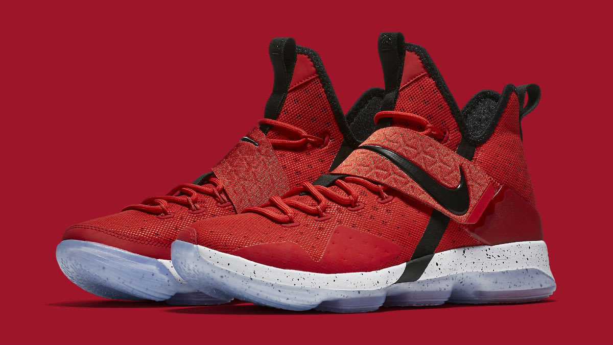 """Nike LeBron 14 """"University Red"""" Release Date   Sole Collector"""