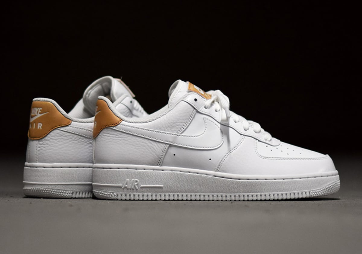 new arrival 76abc 05ab0 shop nike air force 1 low lv8 white vachetta tan sole collector 87df8 e6e53
