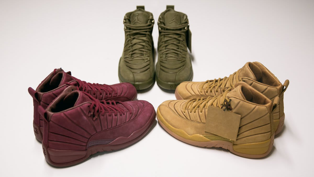 330f72384a19 PSNY x Air Jordan 12 Collection Release Date